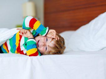 dziecko nie może zasnąć