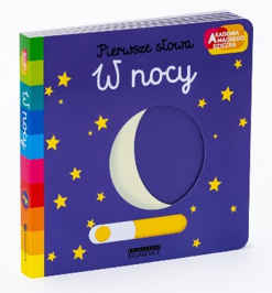 książeczka interaktywna w nocy