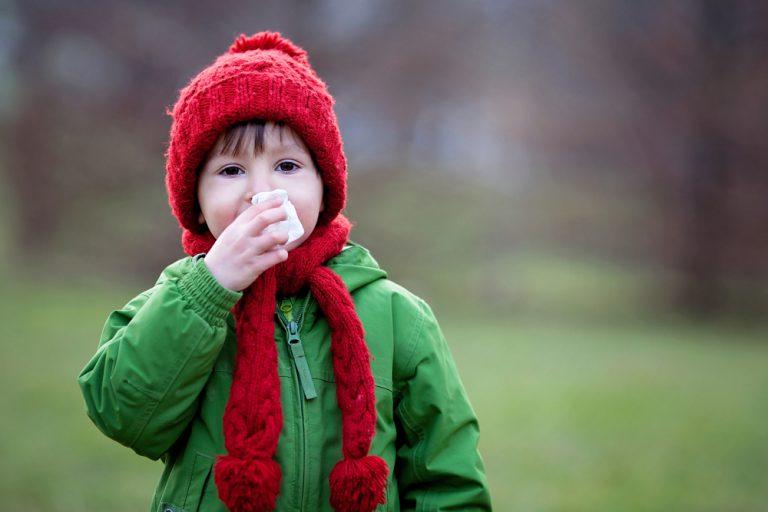 jak uchronić dziecko przed przeziębieniem