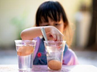 eksperymenty dla dzieci, dziecięce eksperymenty