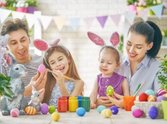 przygotowania do wielkanocy, malowanie jajek, wielkanoc z dziećmi, kreatywne ozdoby na wielkanoc