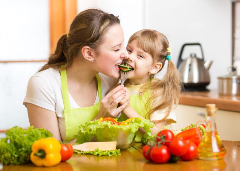 zdrowe nawyki u dzieci, zdrowe jedzenie,