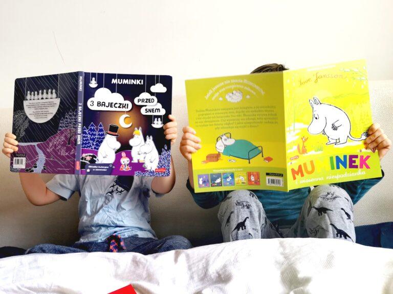 muminki książeczki, muminki harperkinds, książeczki o muminkach dla dzieci