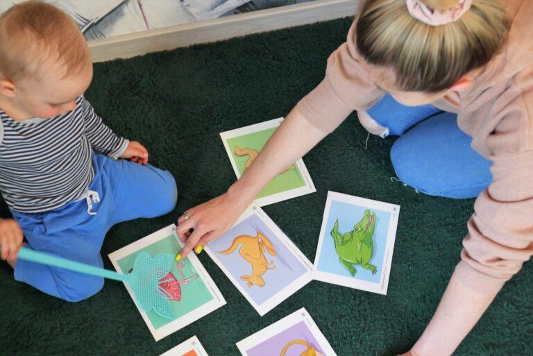 zabawy z dzieckiem po angielsku, nauka angielskiego z dzieckiem