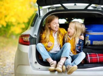 jak zająć dziecko w podróży, zabawy na podróż dla dzieci