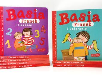 Basia Franek i liczenie, Basia Franek i ubieranie